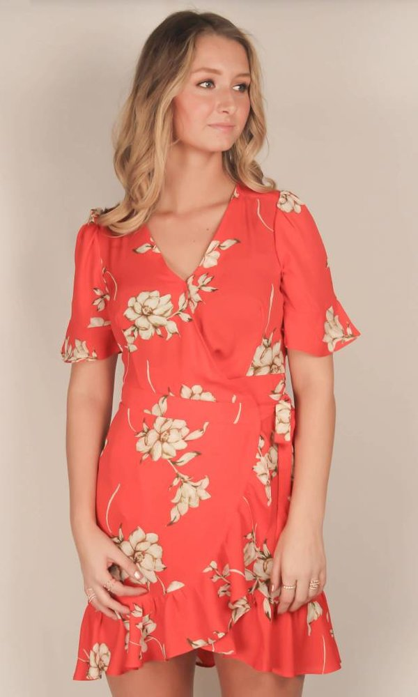 Short Floral Bastian Dress
