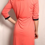 Conquer The World Dress/ Classic Coral