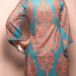 Aryeh Dress Teal