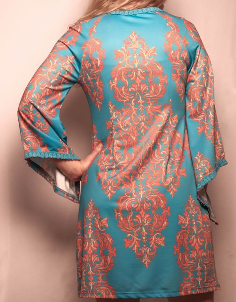 Aryeh Dress Teal