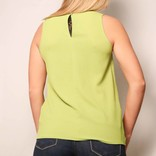Criss Cross Front Top/ Lime