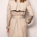 Julietta Trench Coat/ Taupe