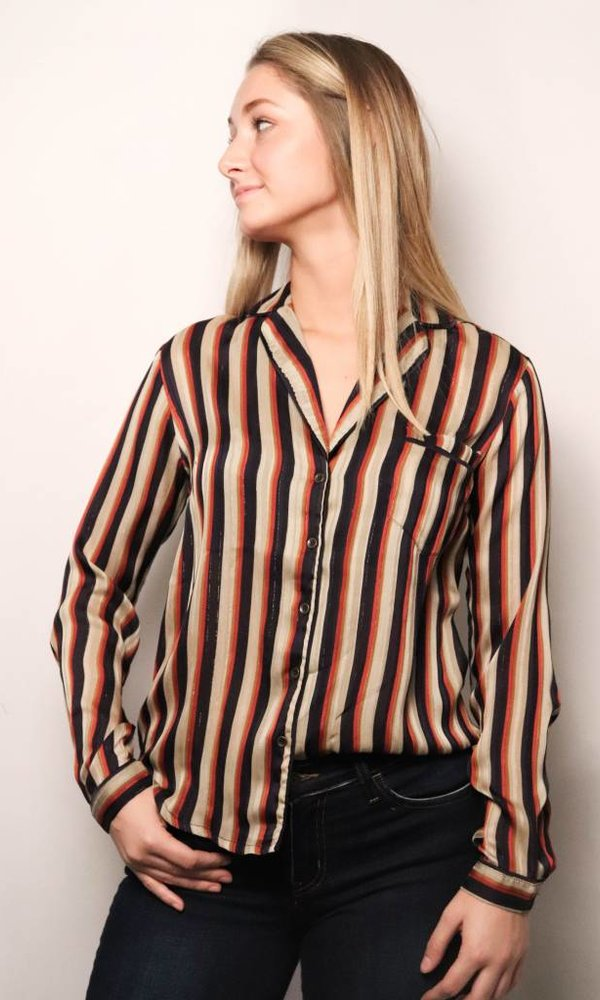 Benny Striped Blouse