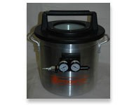 1 1/4 Gallon Vacuum Chamber With Venturi (Requires Air Compressor)