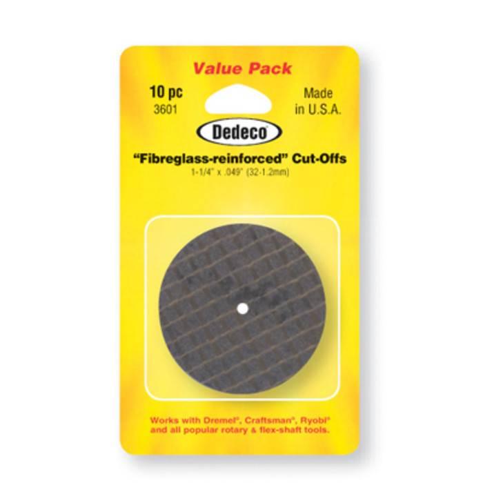 Dedeco International 1.25in Cutoff Wheel 10pc