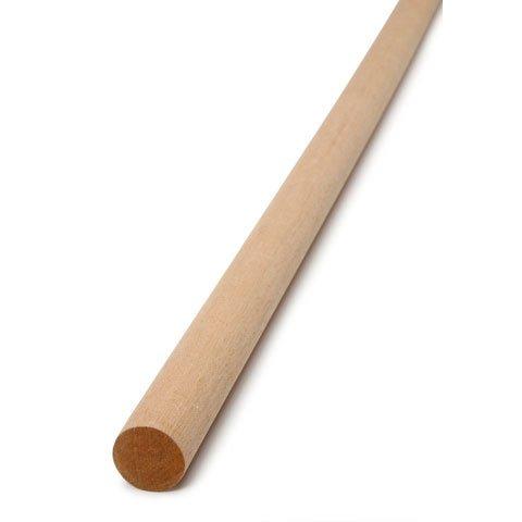 Wood 1'' Wooden Dowel Neutral