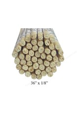 Wood 1/8'' Wooden Dowel Natural