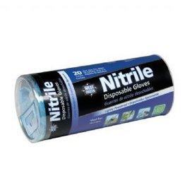 Nitrile Gloves 20pc Tube