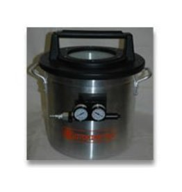 2 Gallon Vacuum Chamber With Venturi (Requires Air Compressor)