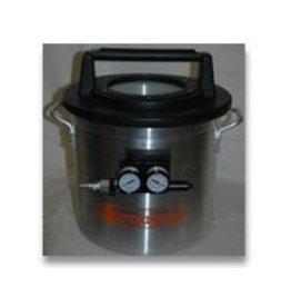 Just Sculpt 2 Gallon Vacuum Chamber With Venturi (Requires Air Compressor)