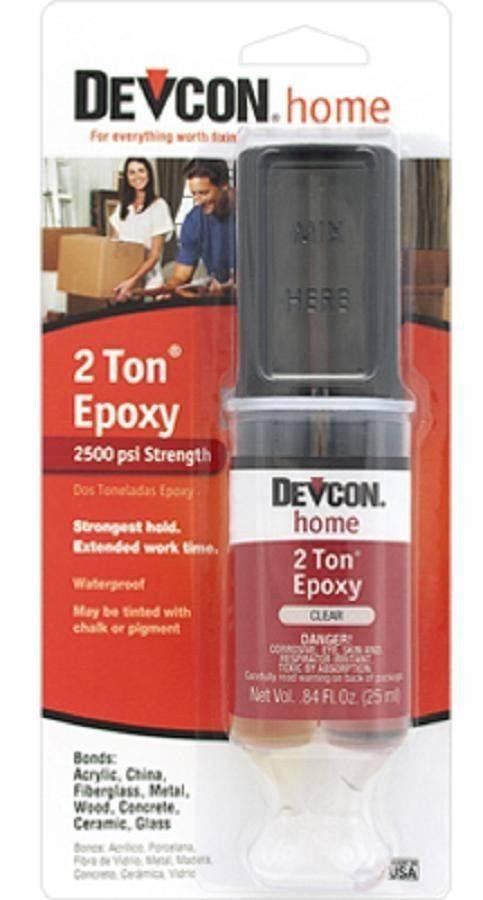 Devcon 2 Ton Epoxy Syringe