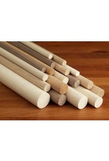 Wood 3/16'' Wooden Dowel Black