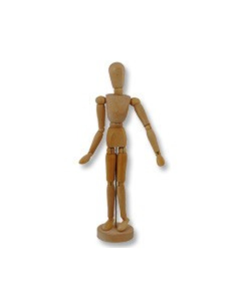 Just Sculpt 4-1/2in Wooden Manikin