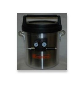5 Gallon Vacuum Chamber With Venturi (Requires Air Compressor)