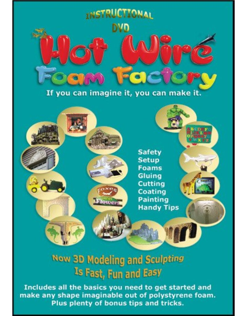 Hot Wire Foam Factory AC Starter Sculpting Kit K02