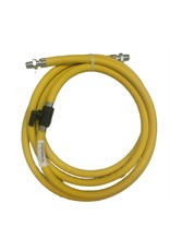Trow & Holden Complete Air Hose Assembly 10' (3m) w/ 2 Nipples and Plastic Stopcock