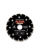 Alpha Alpha Libero Diamond Blade 4in