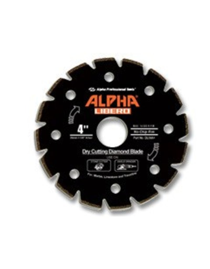 Alpha Alpha Libero Diamond Blade 4in