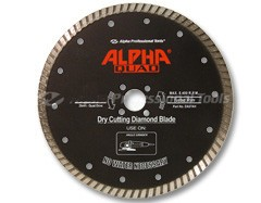 Alpha Quad Diamond Blade 5in