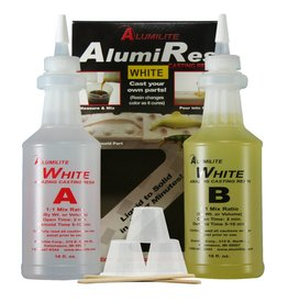 Alumilite Corporation Alumilite White Trial Kit