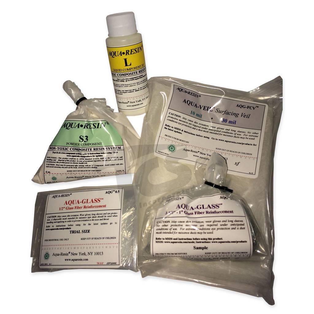 Aquaresin Aqua-Resin Trial Size Kit