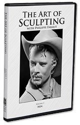 PCF Studio Faraut DVD #3: The Art of Sculpting with Philippe Faraut: Men