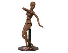 Sideshow Collectables Art S. Buck Female African American Model
