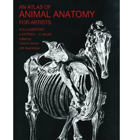 Dover Publications Atlas Of Animal Anatomy Book Ellenberger