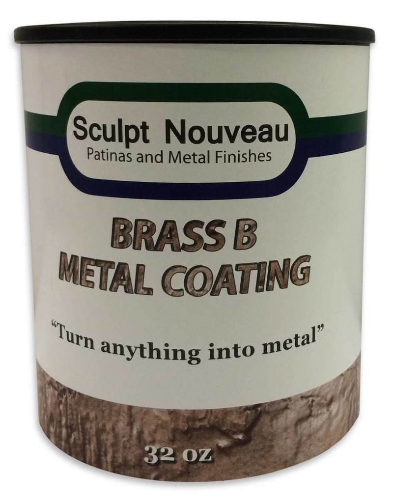 Sculpt Nouveau B Metal Coat Brass 32oz