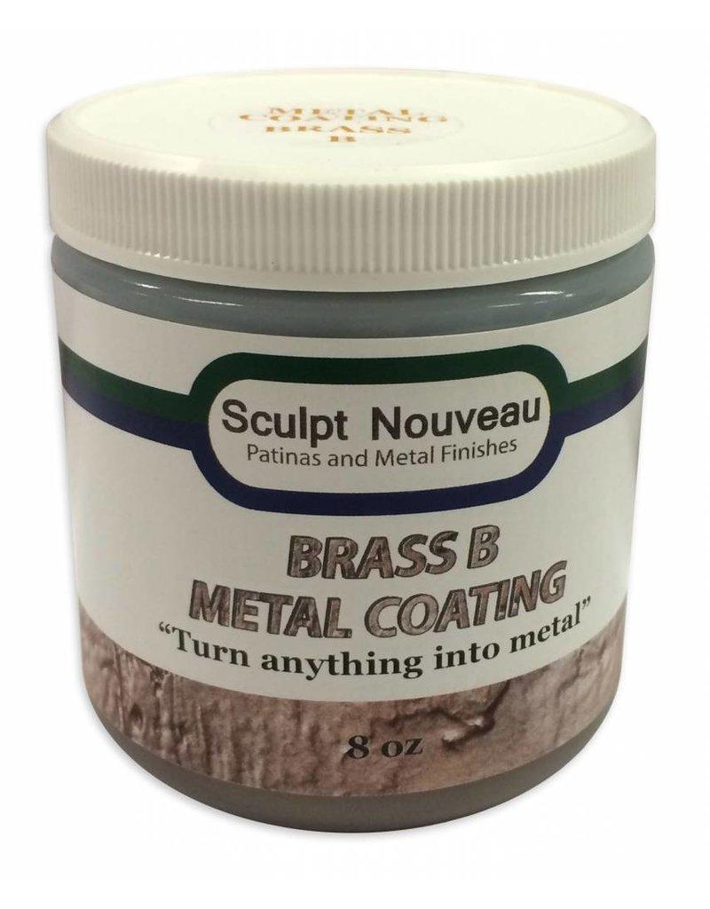 Sculpt Nouveau B Metal Coat Brass 8oz