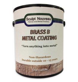 Sculpt Nouveau B Metal Coat Brass Gallon