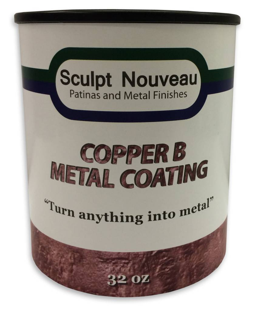 Sculpt Nouveau B Metal Coat Copper 32oz