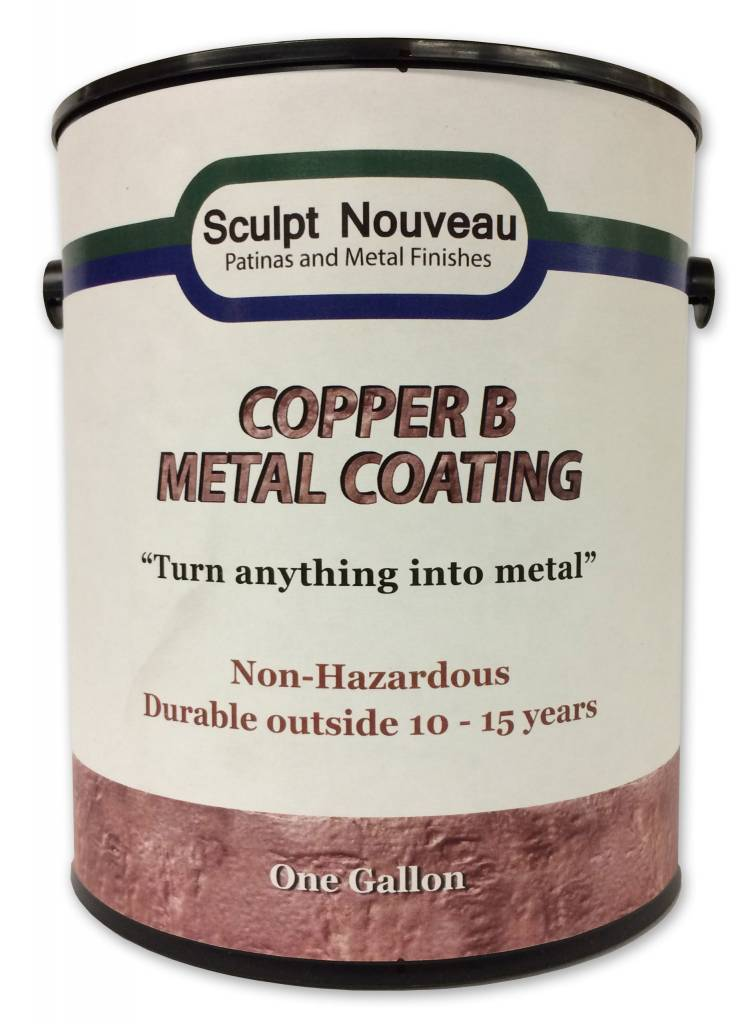 Sculpt Nouveau B Metal Coat Copper Gallon