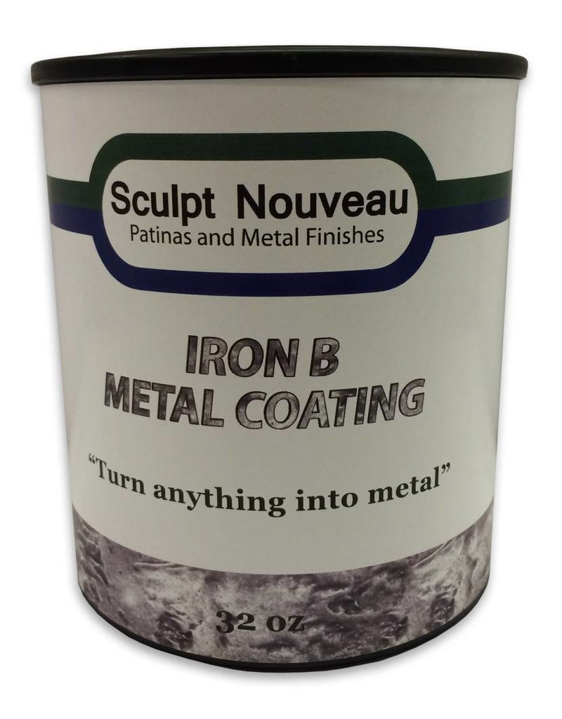 Sculpt Nouveau B Metal Coat Iron 32oz