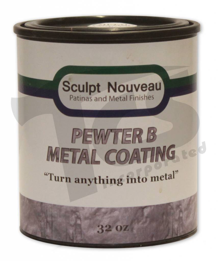 Sculpt Nouveau B Metal Coat Pewter 32oz