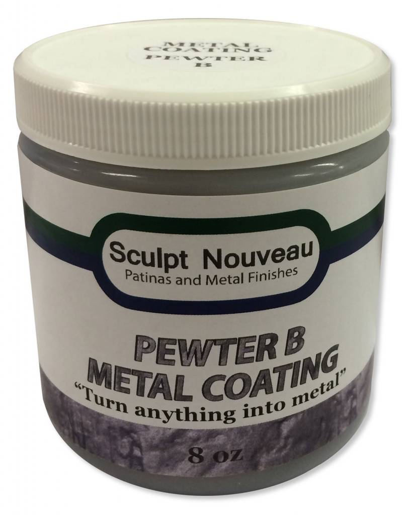 Sculpt Nouveau B Metal Coat Pewter 8oz