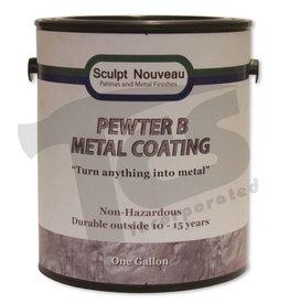 Sculpt Nouveau B Metal Coat Pewter Gallon