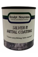 Sculpt Nouveau B Metal Coat Silver 32oz
