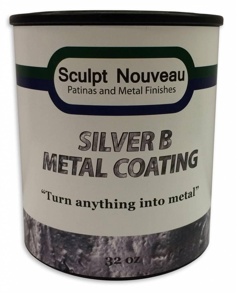 Sculpt Nouveau B Metal Coat Silver 32oz