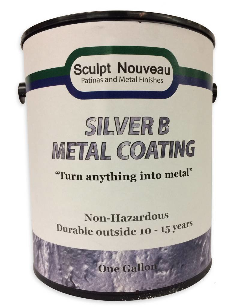 Sculpt Nouveau Silver B Metal Coating Gallon