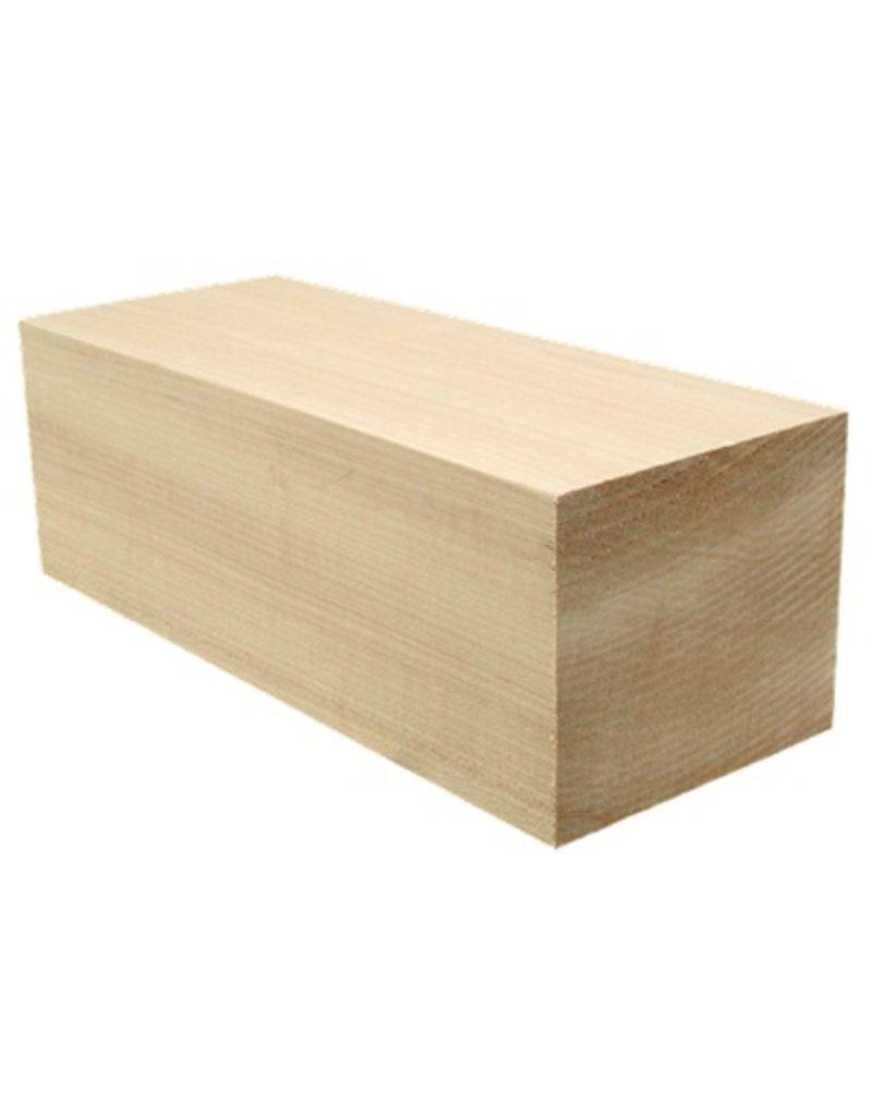 Wood Basswood Block 10''x4''x3.5''