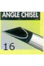 Clay Shaper Black Angle Chisel #16 Clayshaper