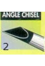 Clay Shaper Black Angle Chisel #2 Clayshaper