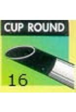Clay Shaper Black Cup Round #16 Clayshaper