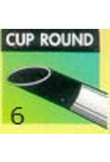 Clay Shaper Black Cup Round #6 Clayshaper