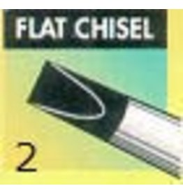 Clay Shaper Black Flat Chisel #2 Clayshaper