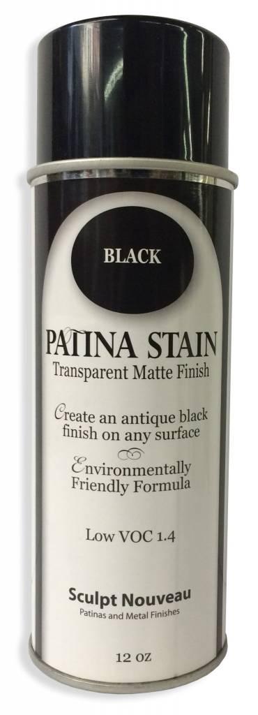 Sculpt Nouveau Patina Stain EF Matte Black 12oz Spray Can