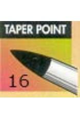 Clay Shaper Black Taper Point #16 Clayshaper