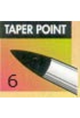 Black Taper Point #6 Clayshaper