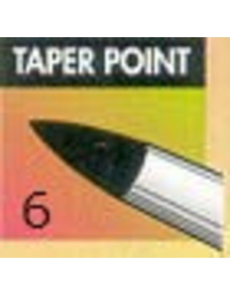Clay Shaper Black Taper Point #6 Clayshaper